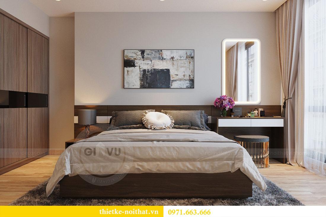 Thiết kế thi công nội thất căn hộ Metropolis tòa M3 09 - chú Hiệp 6