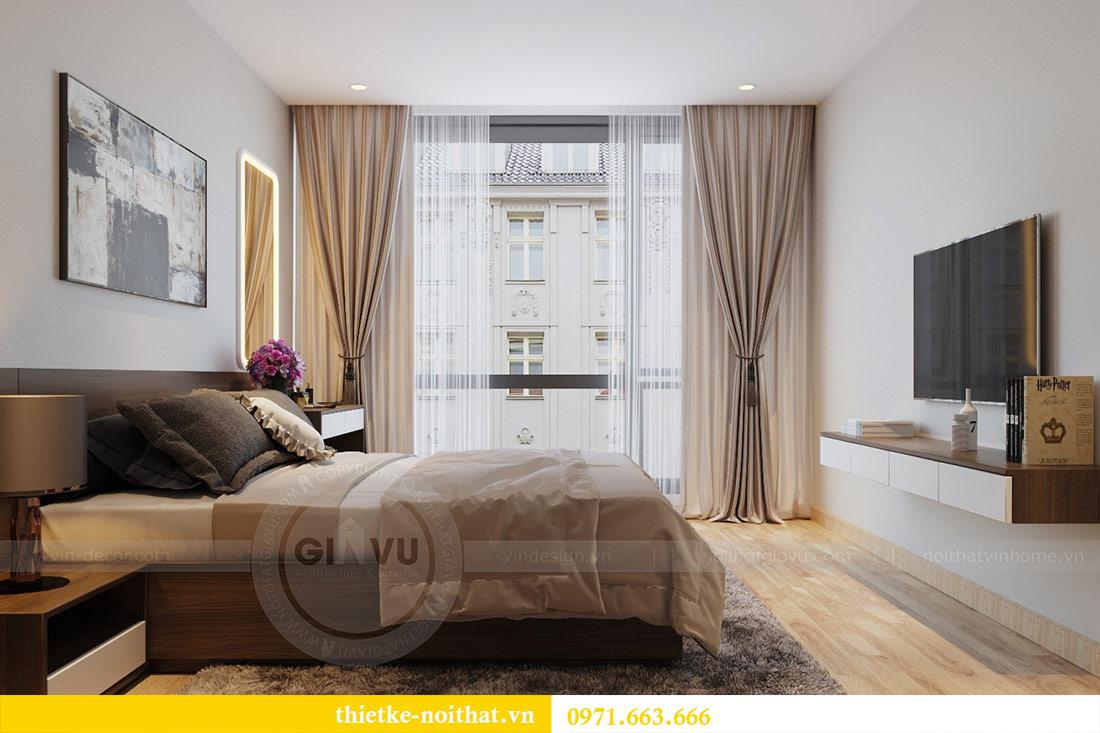Thiết kế thi công nội thất căn hộ Metropolis tòa M3 09 - chú Hiệp 7