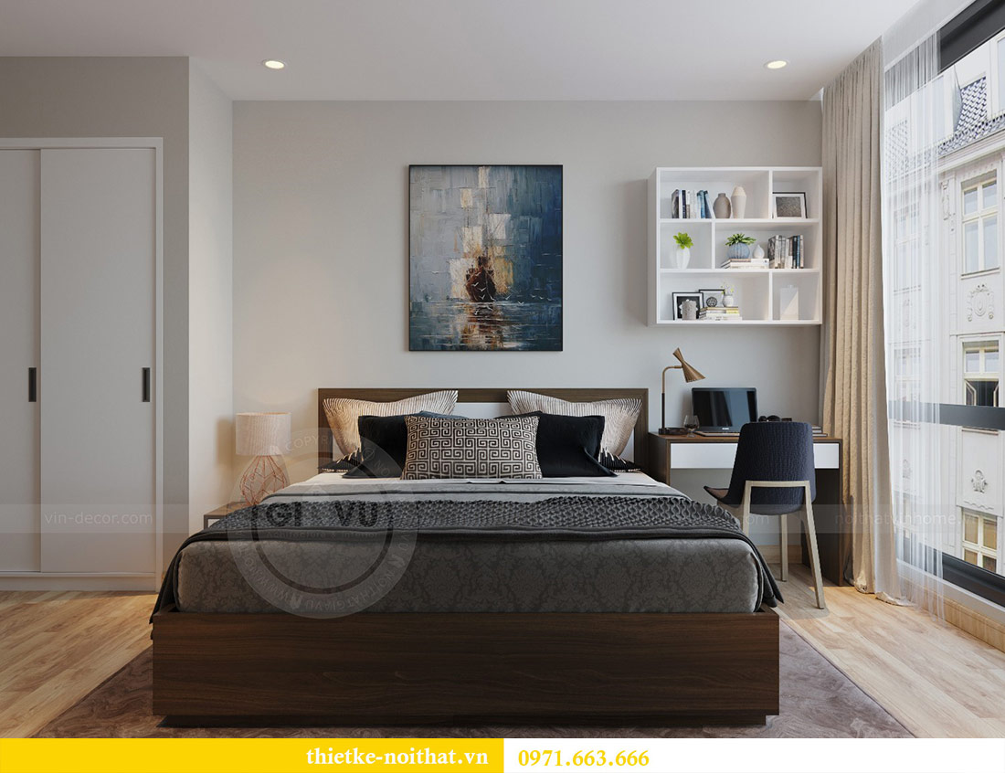 Thiết kế thi công nội thất căn hộ Metropolis tòa M3 09 - chú Hiệp 8
