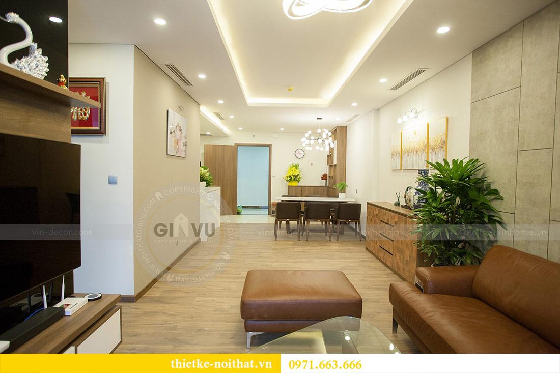 Thi công nội thất chung cư Ngoại Giao Đoàn N01T4 căn 06 - chị Hương 10