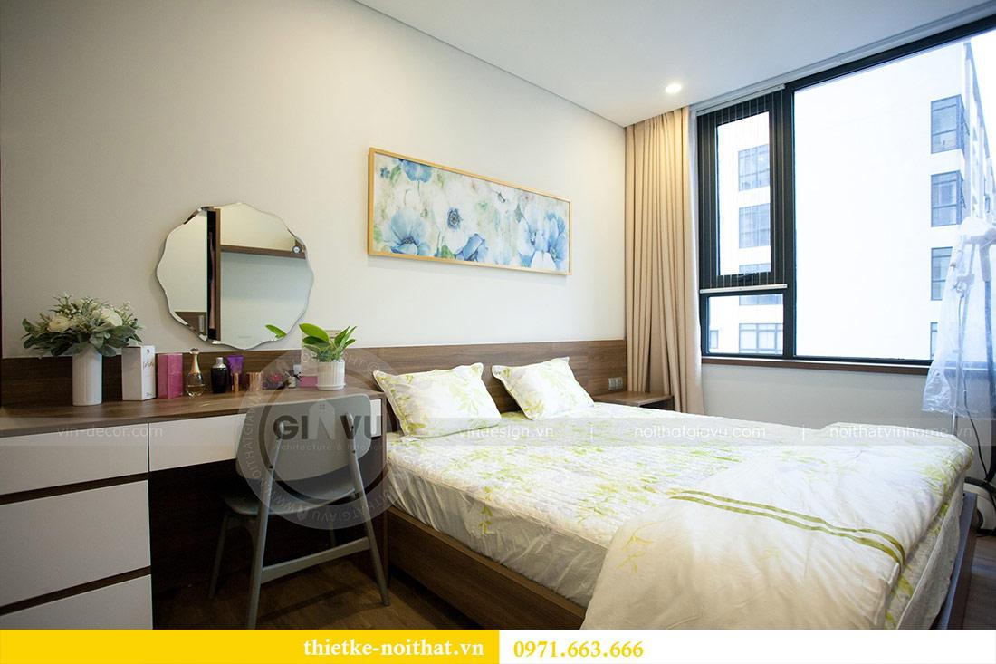 Thi công nội thất chung cư Ngoại Giao Đoàn N01T4 căn 06 - chị Hương 11