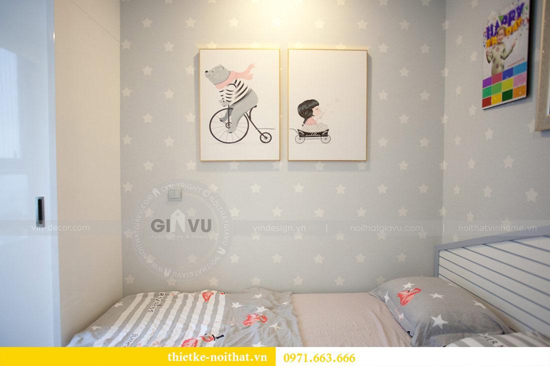Thi công nội thất chung cư Ngoại Giao Đoàn N01T4 căn 06 - chị Hương 15