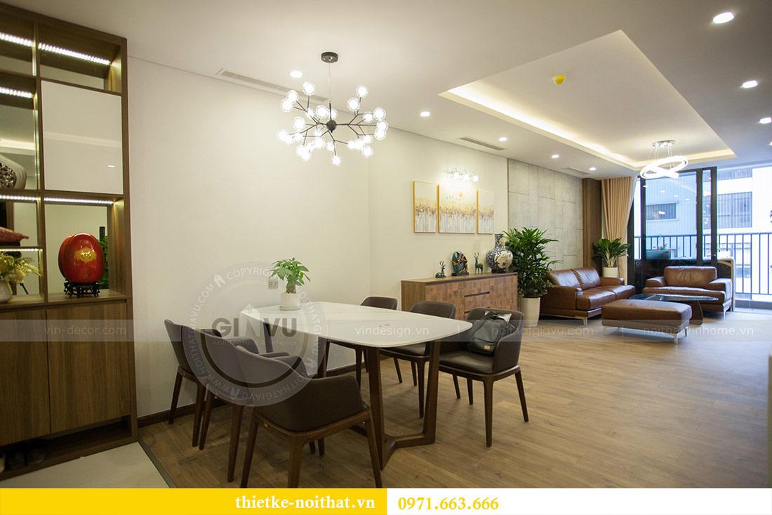Thi công nội thất chung cư Ngoại Giao Đoàn N01T4 căn 06 - chị Hương 2