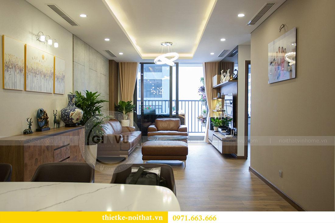 Thi công nội thất chung cư Ngoại Giao Đoàn N01T4 căn 06 - chị Hương 3