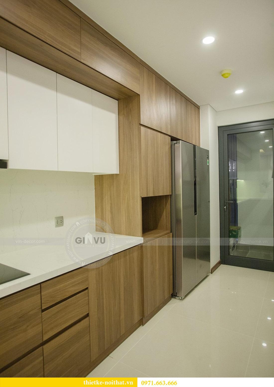 Thi công nội thất chung cư Ngoại Giao Đoàn N01T4 căn 06 - chị Hương 9