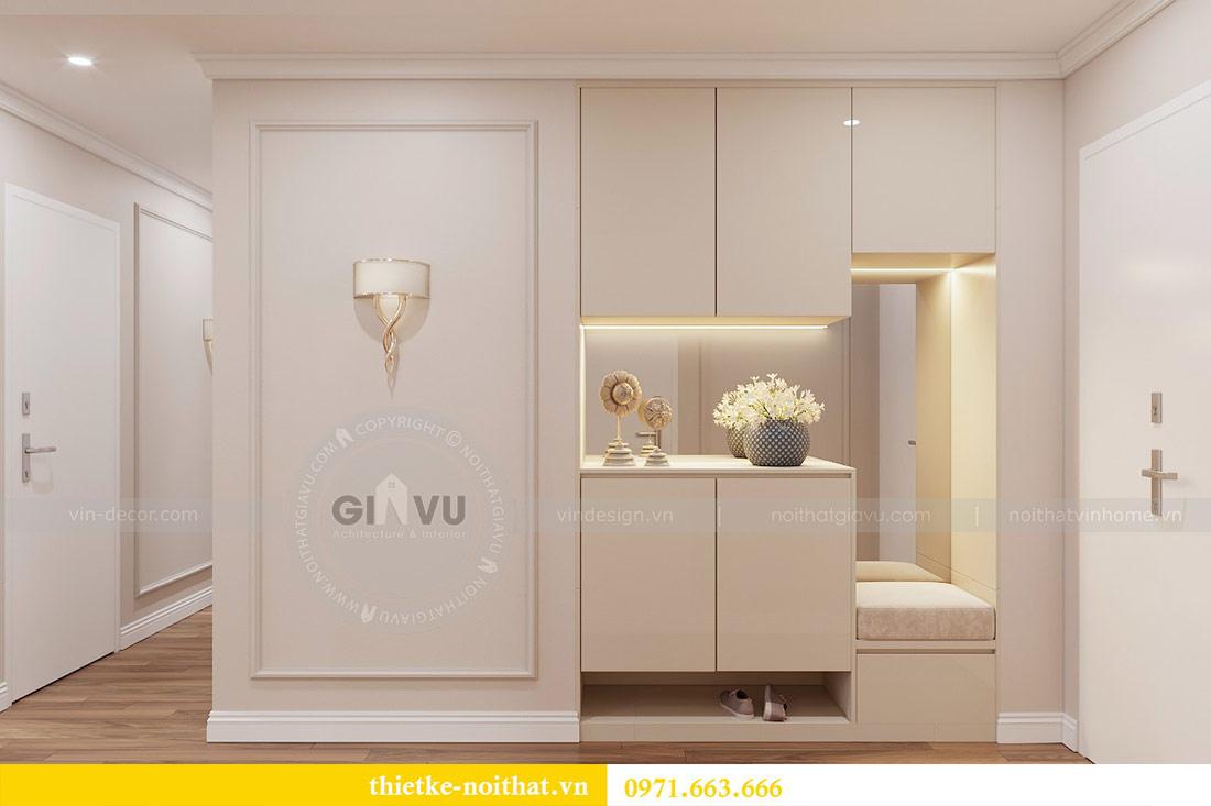 Thiết kế nội thất chung cư 29 Liễu Giai tòa M1 căn 05 - chị Lan 1