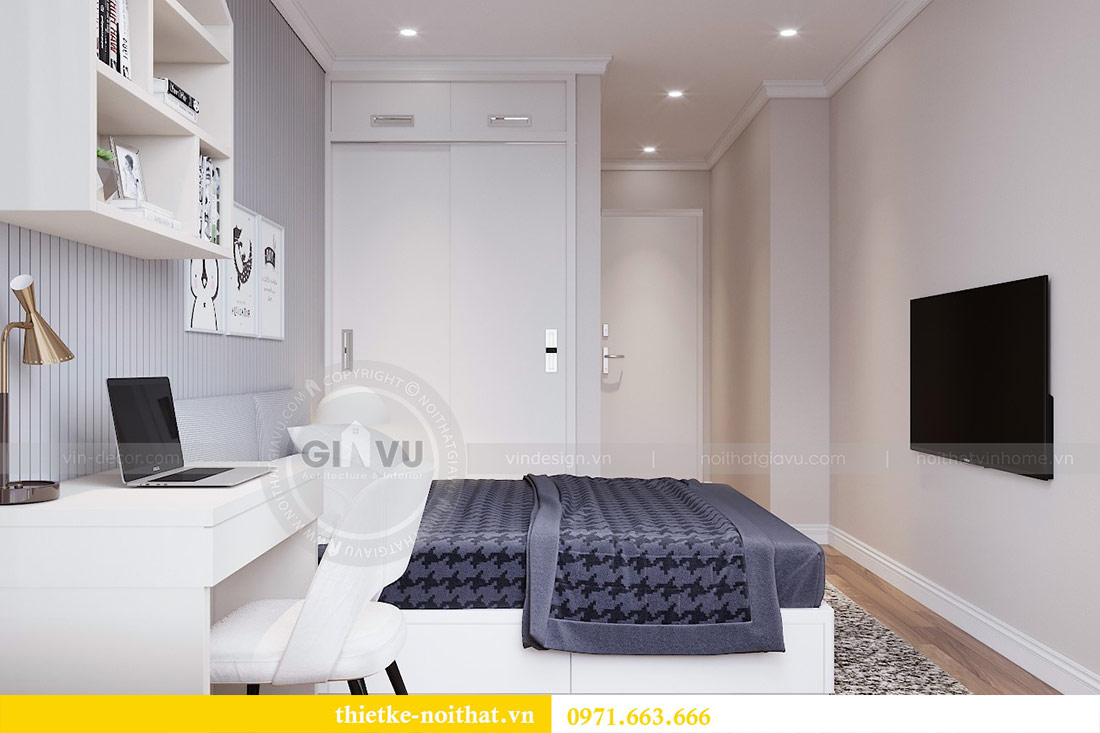 Thiết kế nội thất chung cư 29 Liễu Giai tòa M1 căn 05 - chị Lan 10