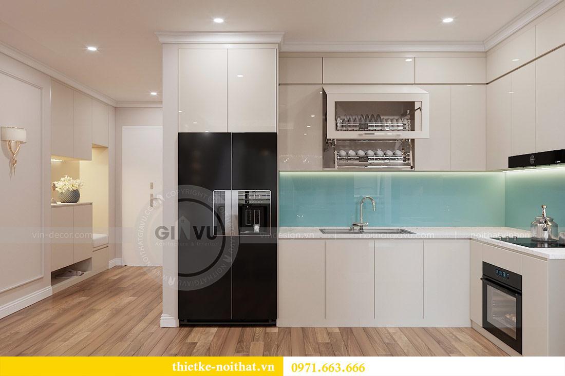 Thiết kế nội thất chung cư 29 Liễu Giai tòa M1 căn 05 - chị Lan 2