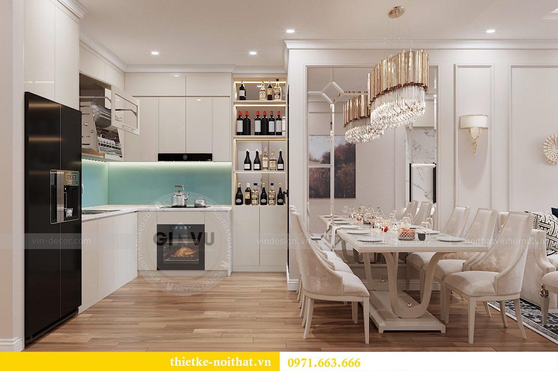 Thiết kế nội thất chung cư 29 Liễu Giai tòa M1 căn 05 - chị Lan 3