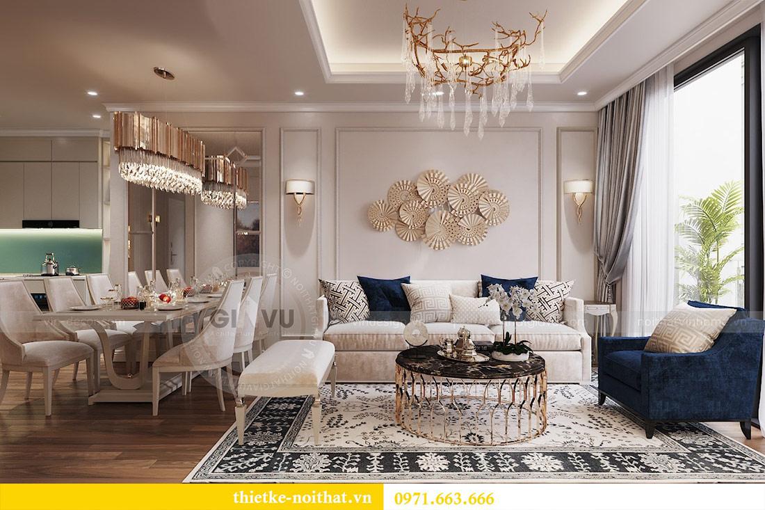 Thiết kế nội thất chung cư 29 Liễu Giai tòa M1 căn 05 - chị Lan 4