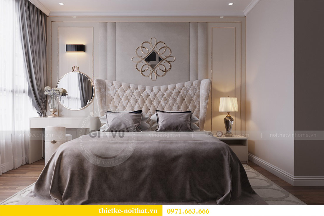 Thiết kế nội thất chung cư 29 Liễu Giai tòa M1 căn 05 - chị Lan 6