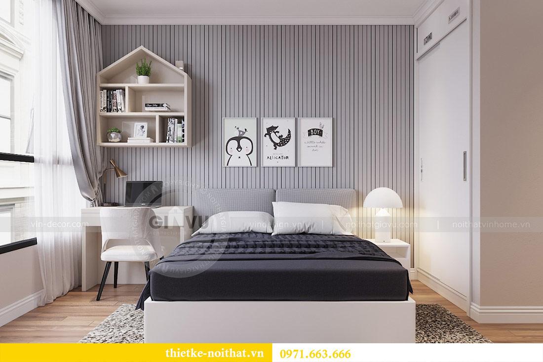 Thiết kế nội thất chung cư 29 Liễu Giai tòa M1 căn 05 - chị Lan 9