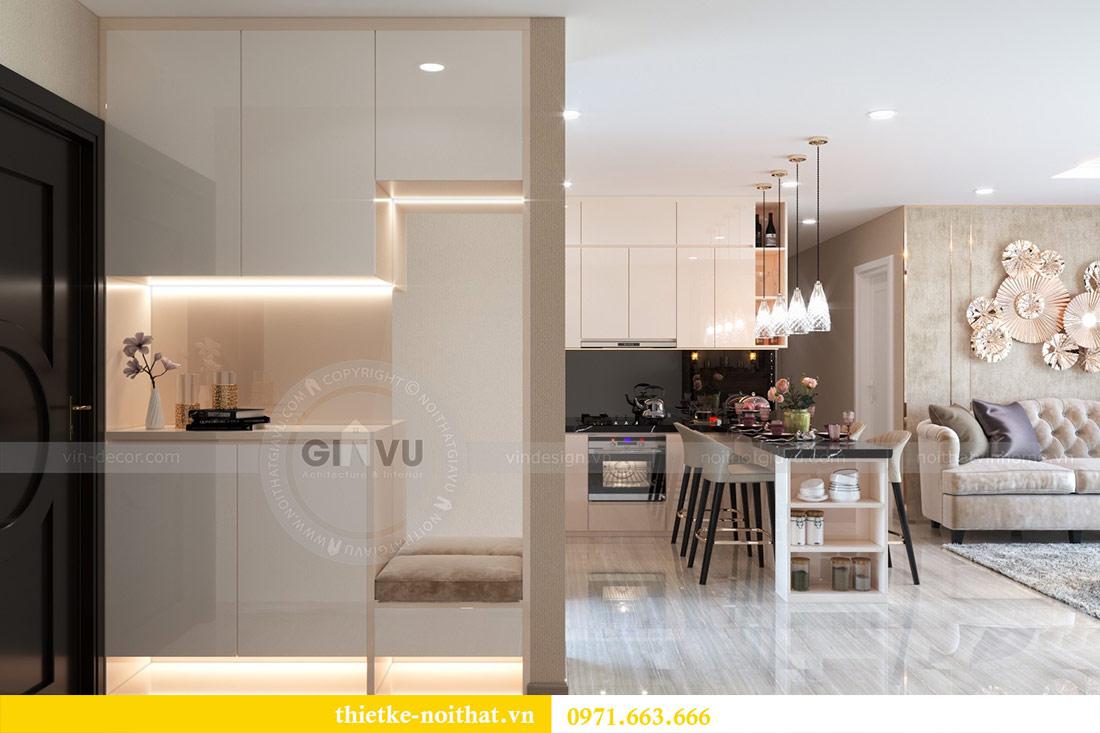 Thiết kế nội thất chung cư Dcapitale tòa C6 căn 03 - chị Hà 1
