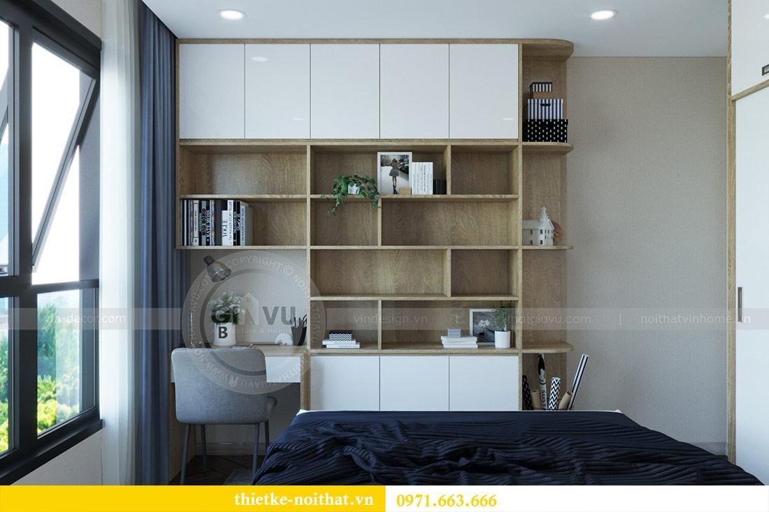 Thiết kế nội thất chung cư Dcapitale tòa C6 căn 03 - chị Hà 11