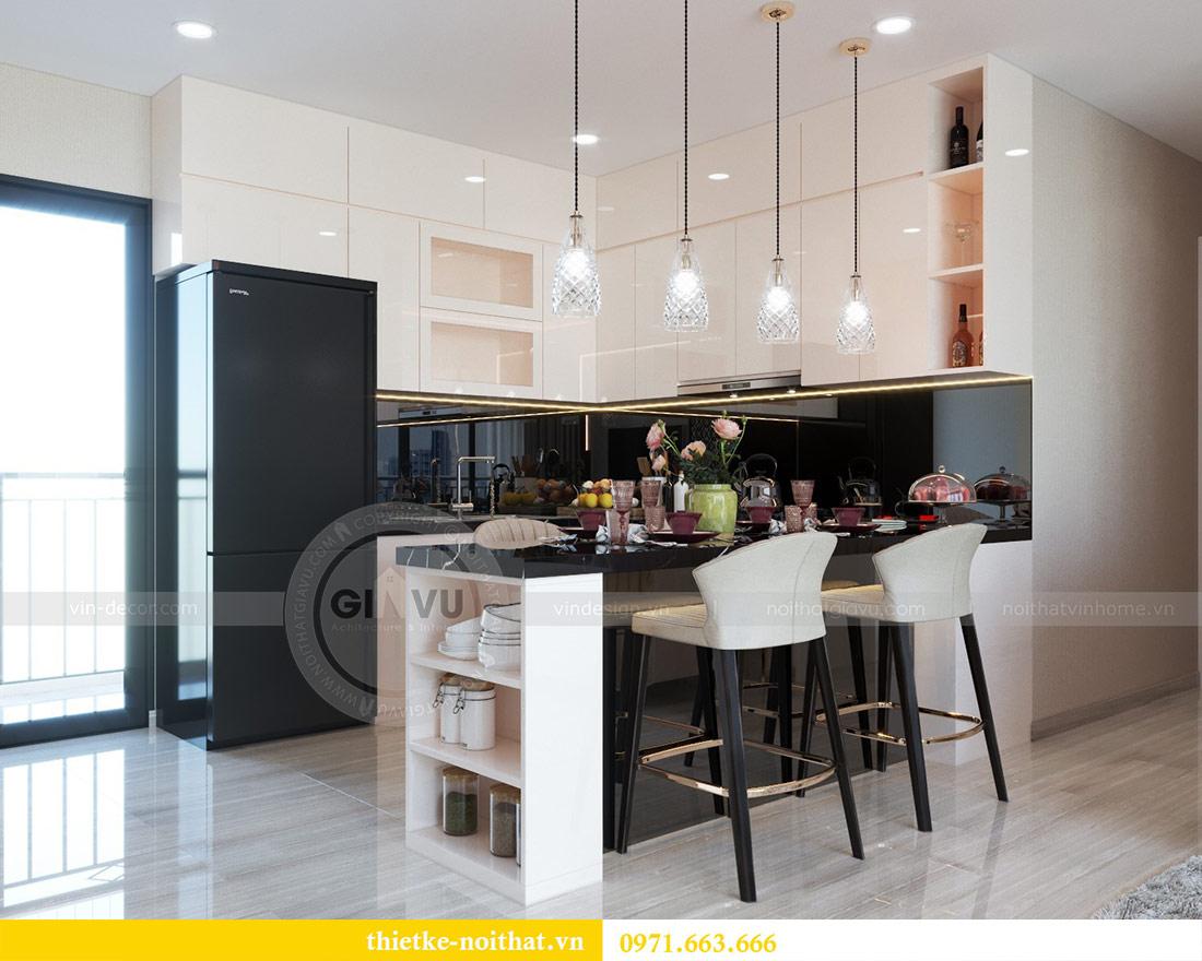 Thiết kế nội thất chung cư Dcapitale tòa C6 căn 03 - chị Hà 2