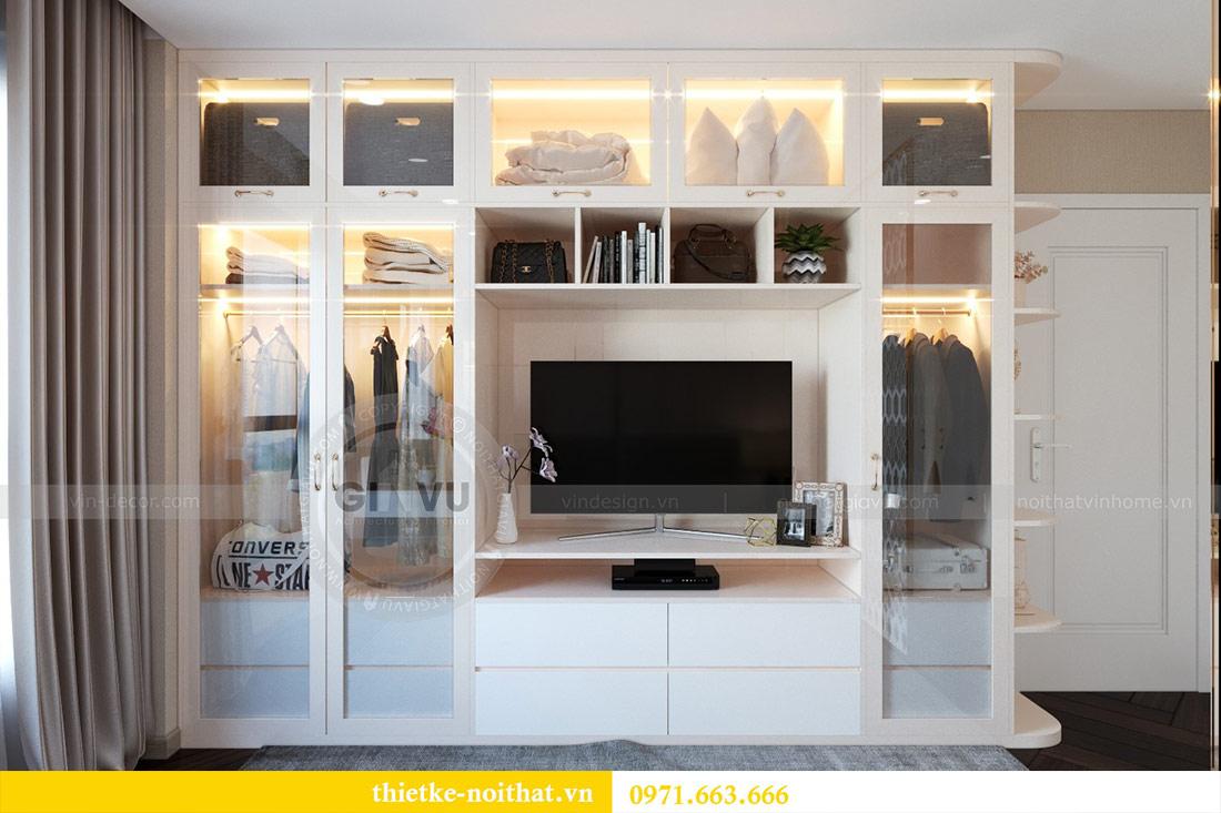Thiết kế nội thất chung cư Dcapitale tòa C6 căn 03 - chị Hà 6