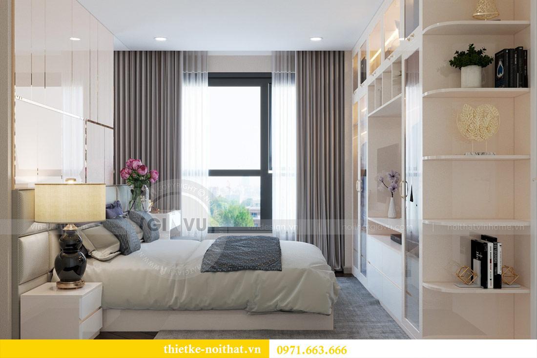 Thiết kế nội thất chung cư Dcapitale tòa C6 căn 03 - chị Hà 7