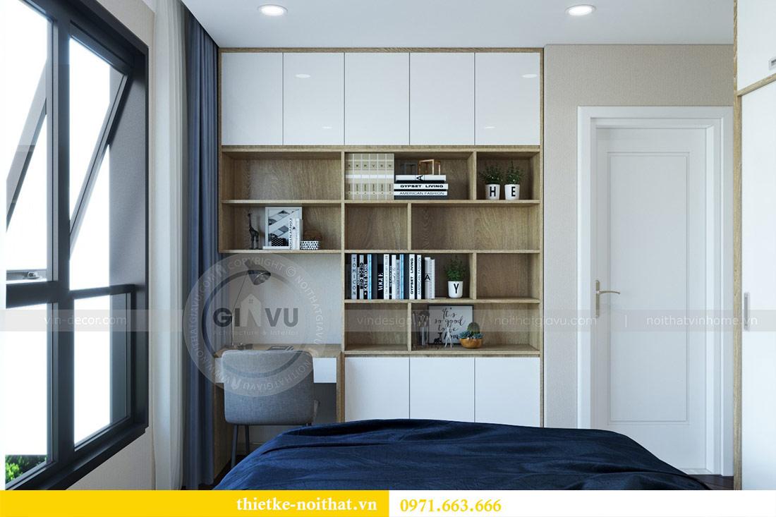Thiết kế nội thất chung cư Dcapitale tòa C6 căn 03 - chị Hà 9