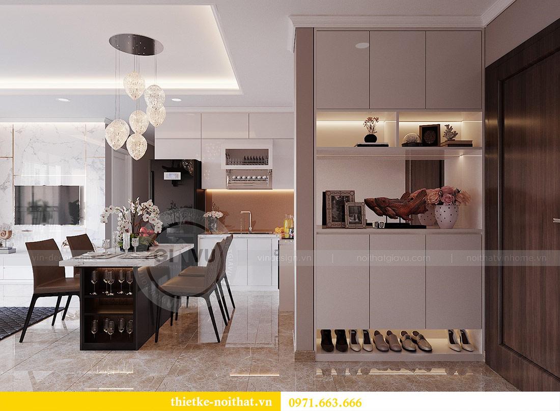 Thiết kế nội thất căn 03 tòa C1 Vinhomes Dcapitale - anh Tĩnh 1