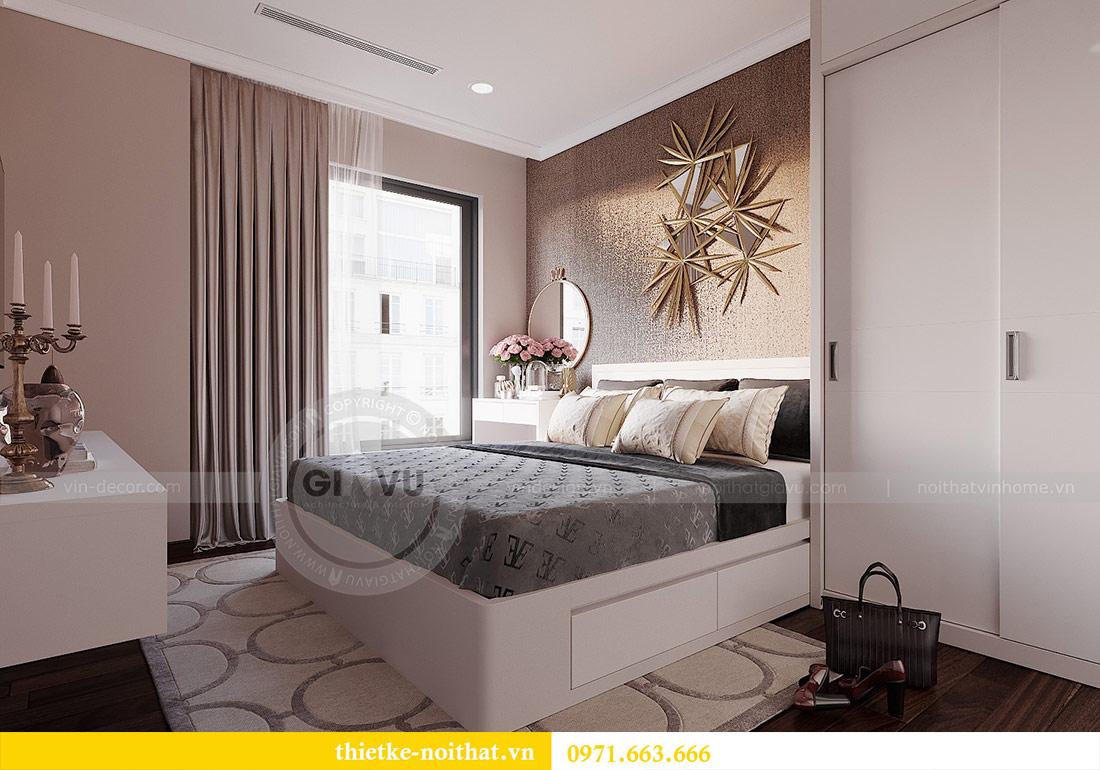 Thiết kế nội thất căn 03 tòa C1 Vinhomes Dcapitale - anh Tĩnh 12