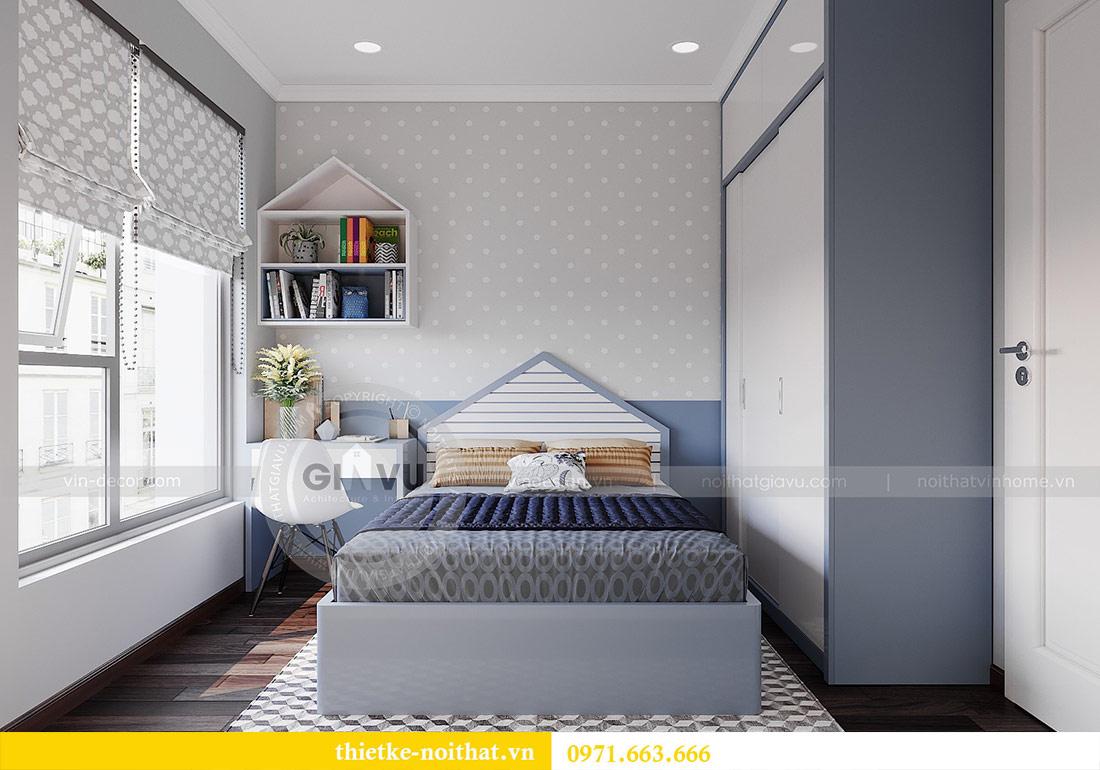 Thiết kế nội thất căn 03 tòa C1 Vinhomes Dcapitale - anh Tĩnh 13