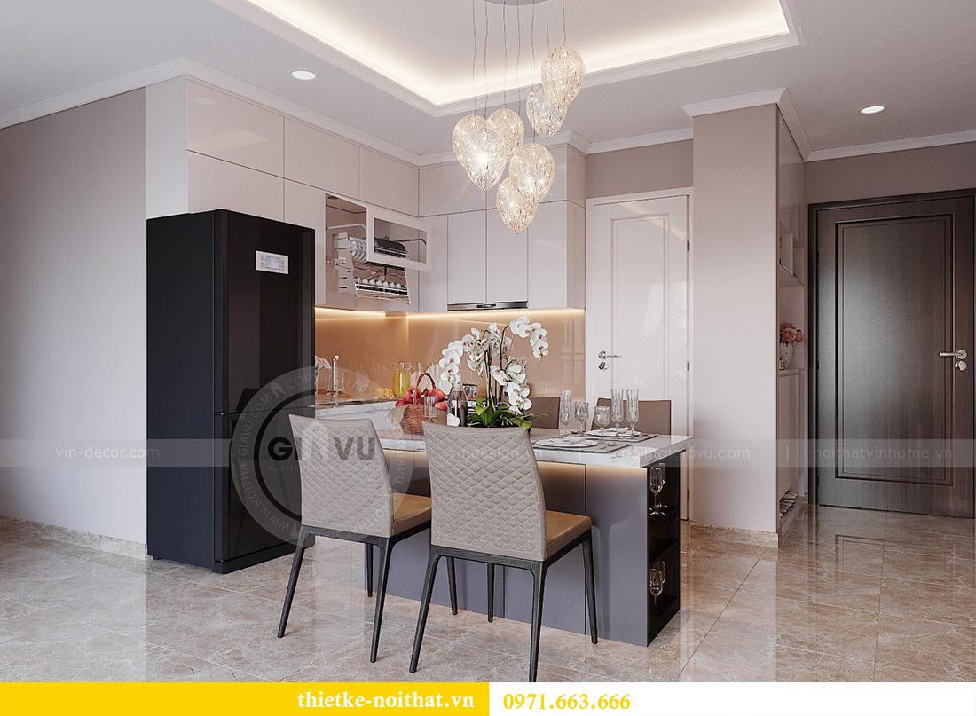 Thiết kế nội thất căn 03 tòa C1 Vinhomes Dcapitale - anh Tĩnh 2