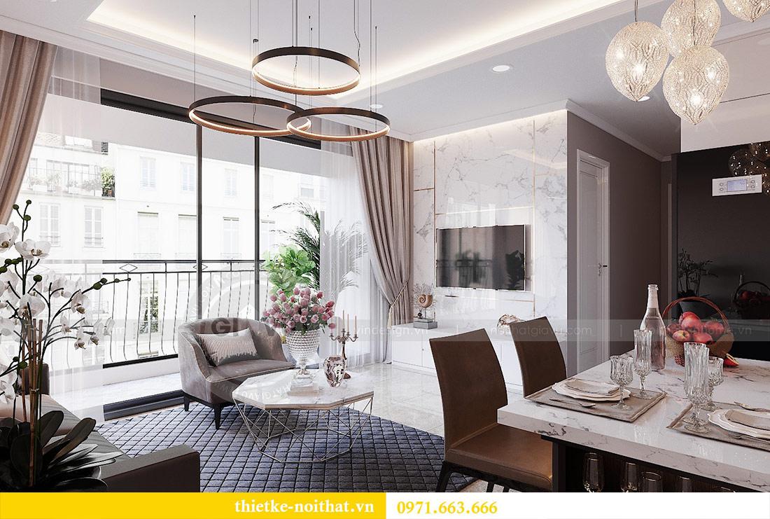 Thiết kế nội thất căn 03 tòa C1 Vinhomes Dcapitale - anh Tĩnh 4