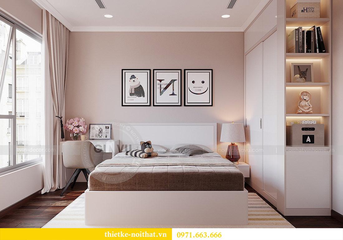 Thiết kế nội thất căn 03 tòa C1 Vinhomes Dcapitale - anh Tĩnh 7