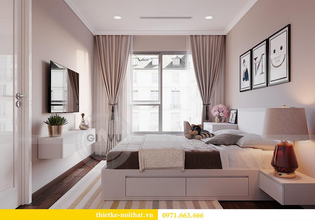 Thiết kế nội thất căn 03 tòa C1 Vinhomes Dcapitale - anh Tĩnh 8