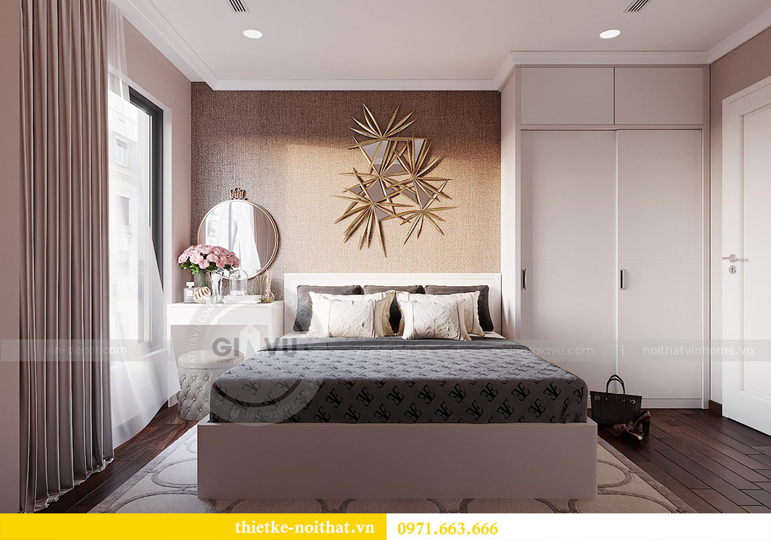 Thiết kế nội thất căn 03 tòa C1 Vinhomes Dcapitale - anh Tĩnh 9