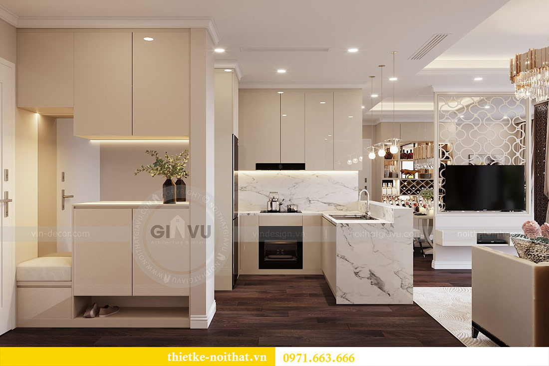 Thiết kế nội thất căn 09 tòa C7 chung cư Dcapitale - chị Minh 1