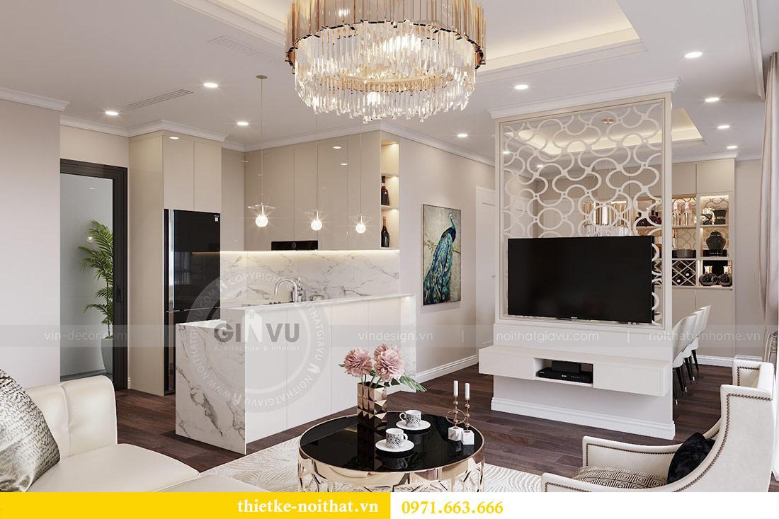 Thiết kế nội thất căn 09 tòa C7 chung cư Dcapitale - chị Minh 2