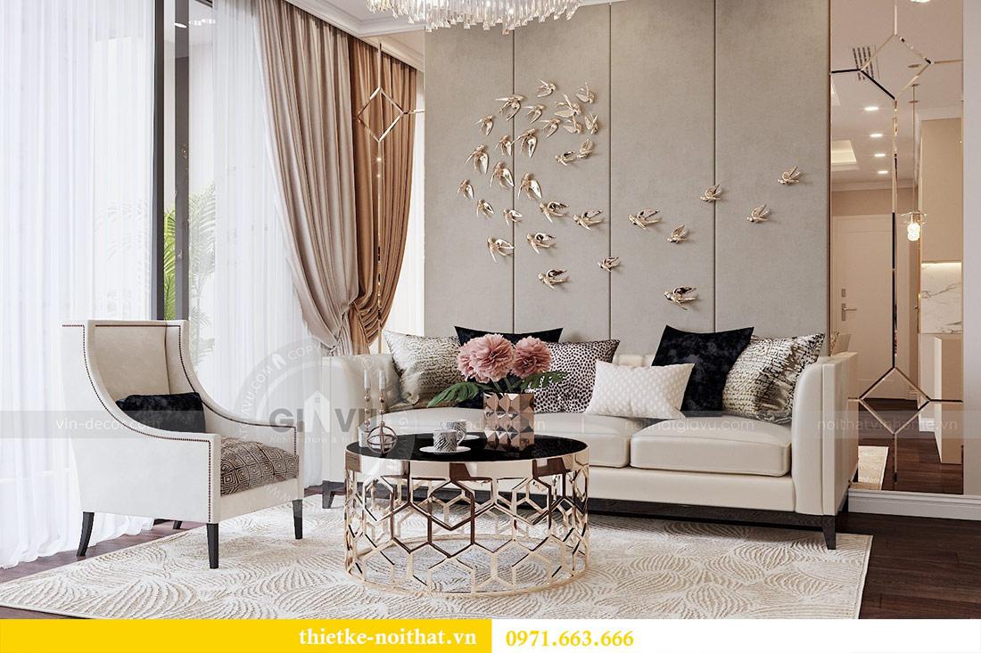 Thiết kế nội thất căn 09 tòa C7 chung cư Dcapitale - chị Minh 3