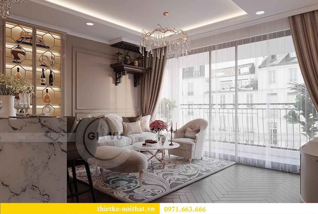Thiết kế nội thất căn 10 tòa C1 chung cư Dcapitale - anh Tuyên 4