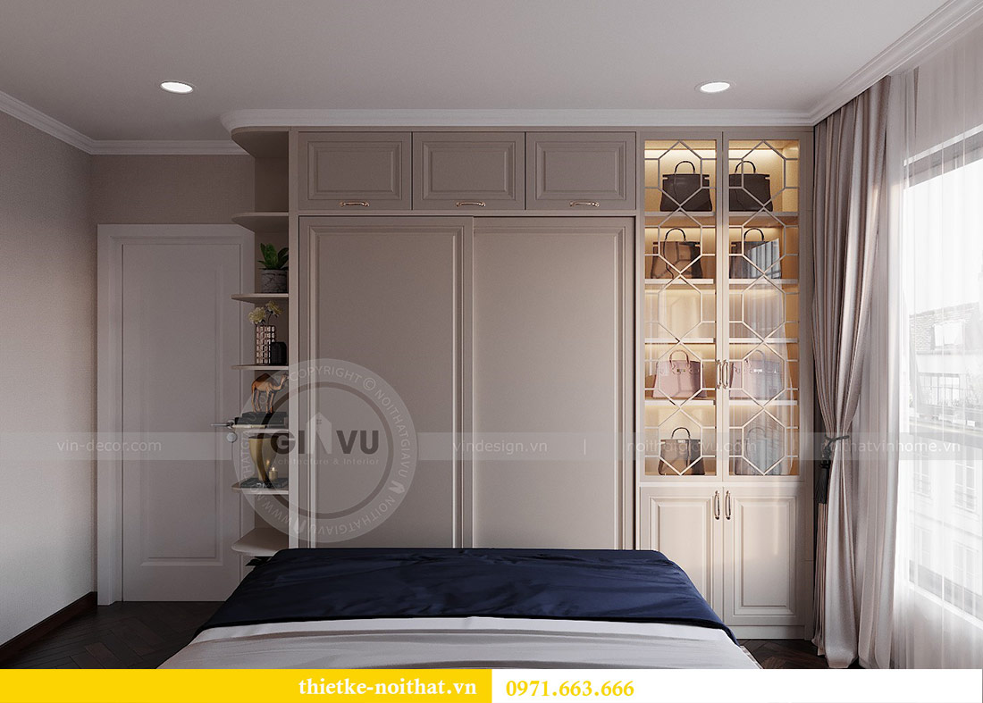 Thiết kế nội thất căn 10 tòa C1 chung cư Dcapitale - anh Tuyên 9