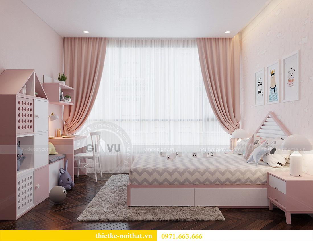 Thiết kế nội thất căn hộ Vinhomes Liễu Giai tòa M3 căn 02 - chị Thơm 10
