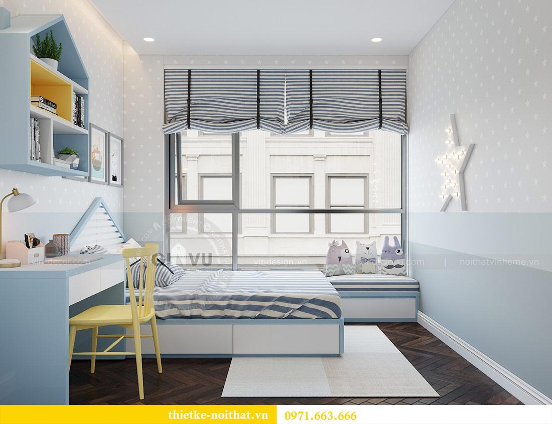 Thiết kế nội thất căn hộ Vinhomes Liễu Giai tòa M3 căn 02 - chị Thơm 12