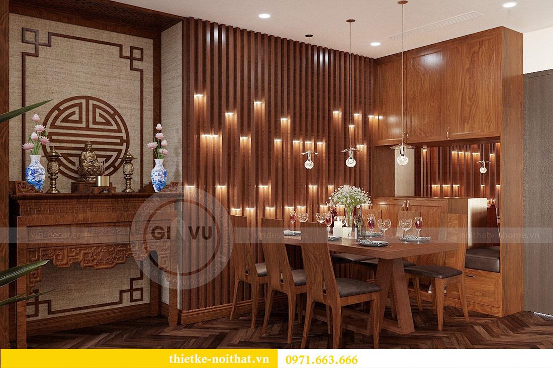 Thiết kế nội thất căn hộ Vinhomes Liễu Giai tòa M3 căn 02 - chị Thơm 2