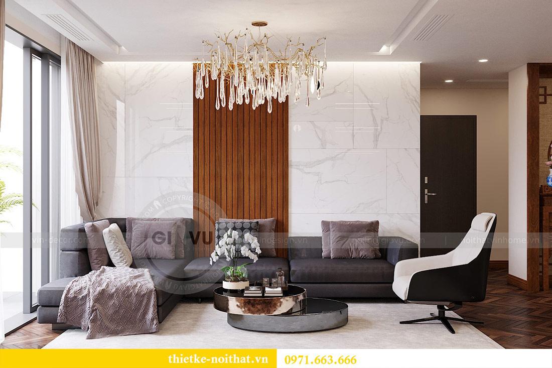 Thiết kế nội thất căn hộ Vinhomes Liễu Giai tòa M3 căn 02 - chị Thơm 4