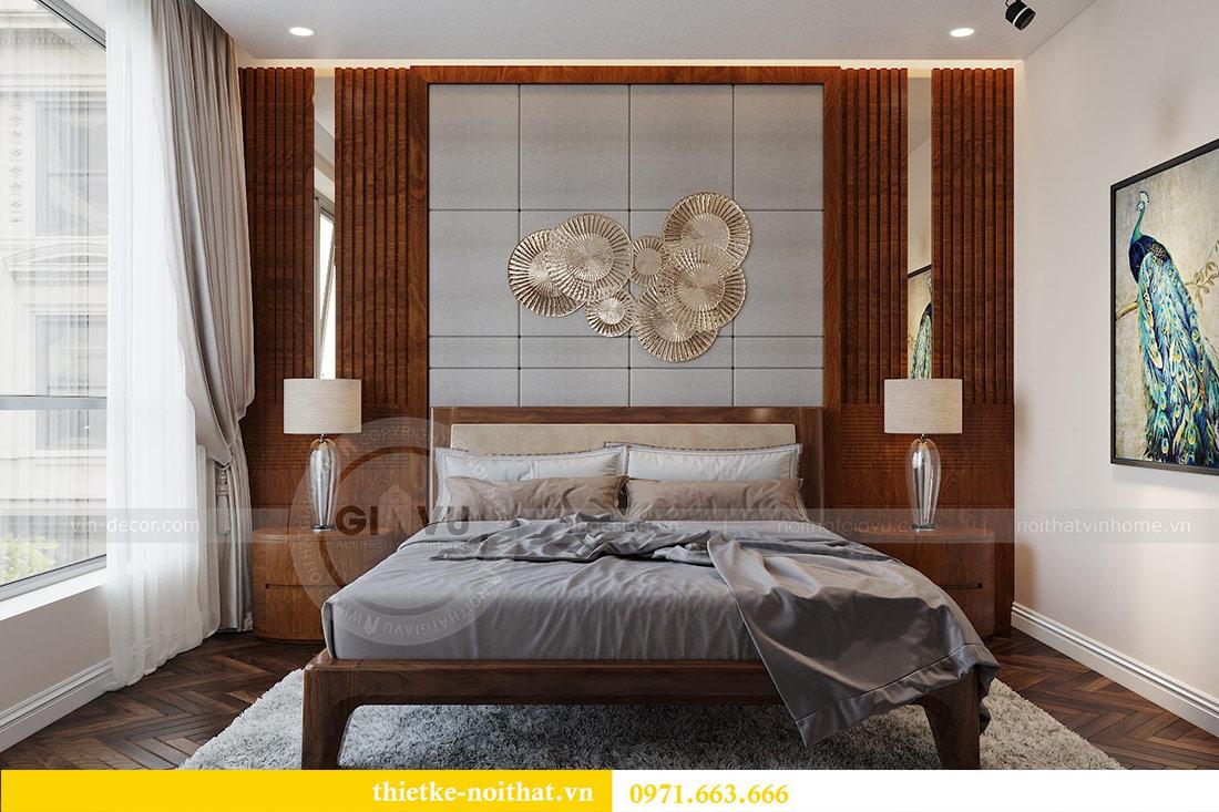 Thiết kế nội thất căn hộ Vinhomes Liễu Giai tòa M3 căn 02 - chị Thơm 6
