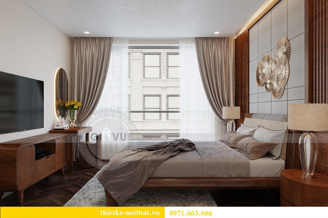 Thiết kế nội thất căn hộ Vinhomes Liễu Giai tòa M3 căn 02 - chị Thơm 7