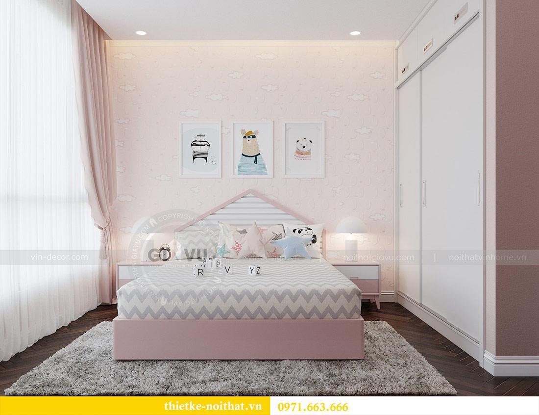 Thiết kế nội thất căn hộ Vinhomes Liễu Giai tòa M3 căn 02 - chị Thơm 8