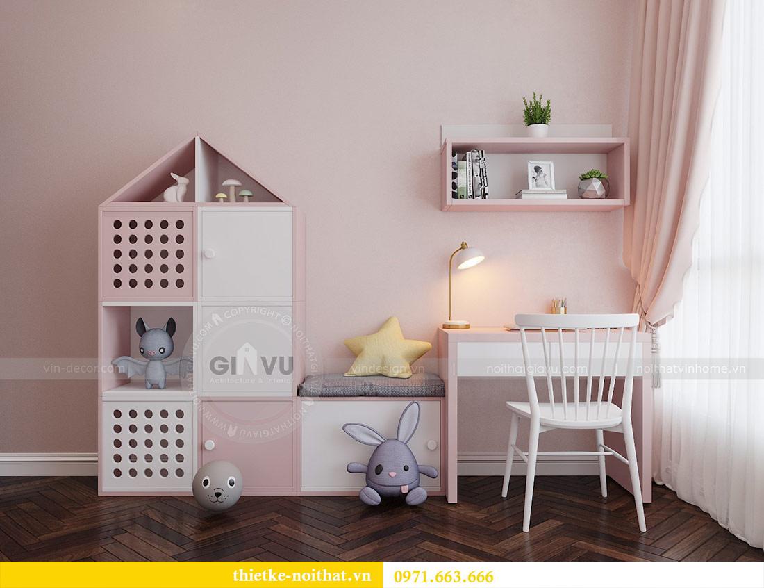 Thiết kế nội thất căn hộ Vinhomes Liễu Giai tòa M3 căn 02 - chị Thơm 9