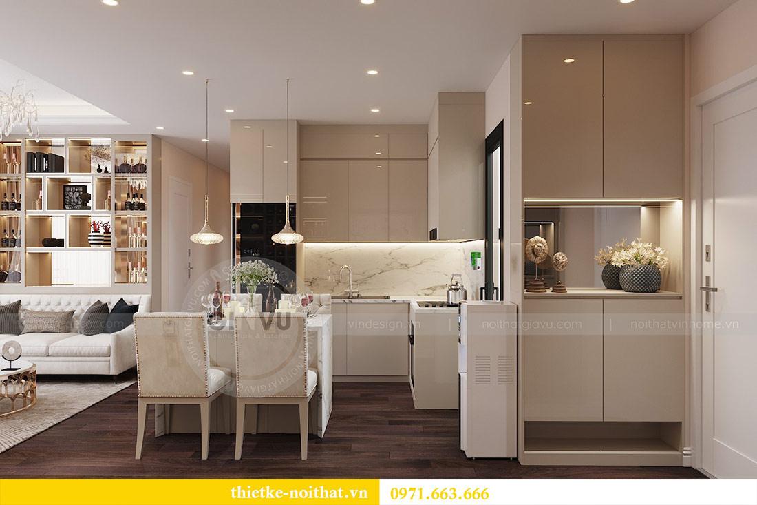 Thiết kế nội thất chung cư dcapitale tòa C1 căn 10 - chị Bun 1