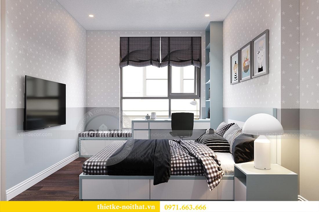 Thiết kế nội thất chung cư dcapitale tòa C1 căn 10 - chị Bun 10
