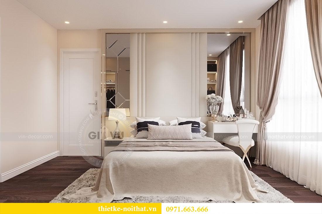 Thiết kế nội thất chung cư dcapitale tòa C1 căn 10 - chị Bun 5