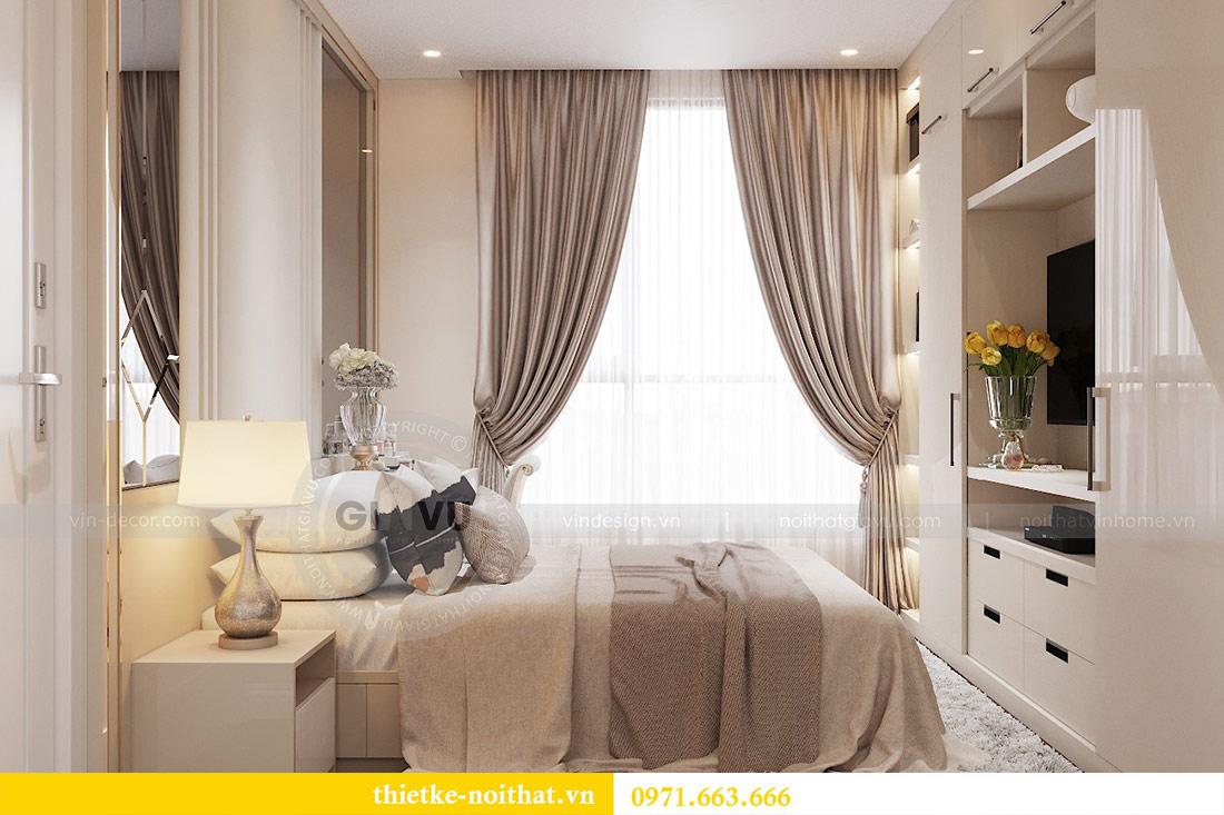 Thiết kế nội thất chung cư dcapitale tòa C1 căn 10 - chị Bun 6