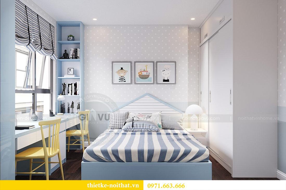 Thiết kế nội thất chung cư dcapitale tòa C1 căn 10 - chị Bun 7