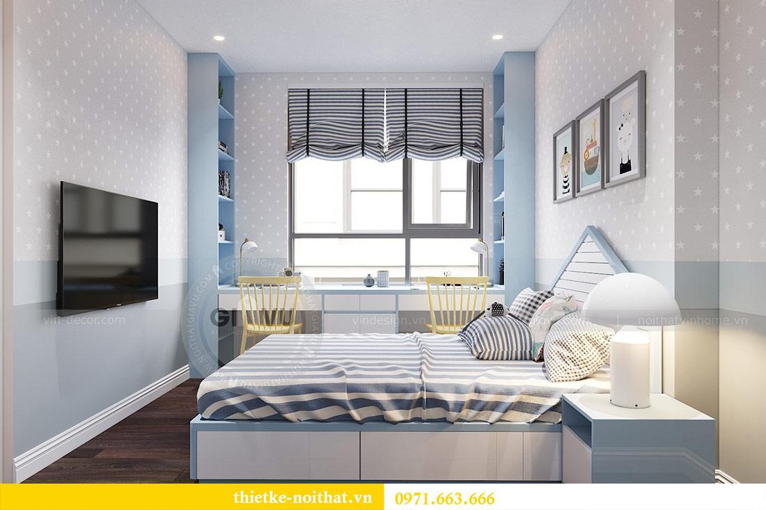 Thiết kế nội thất chung cư dcapitale tòa C1 căn 10 - chị Bun 8
