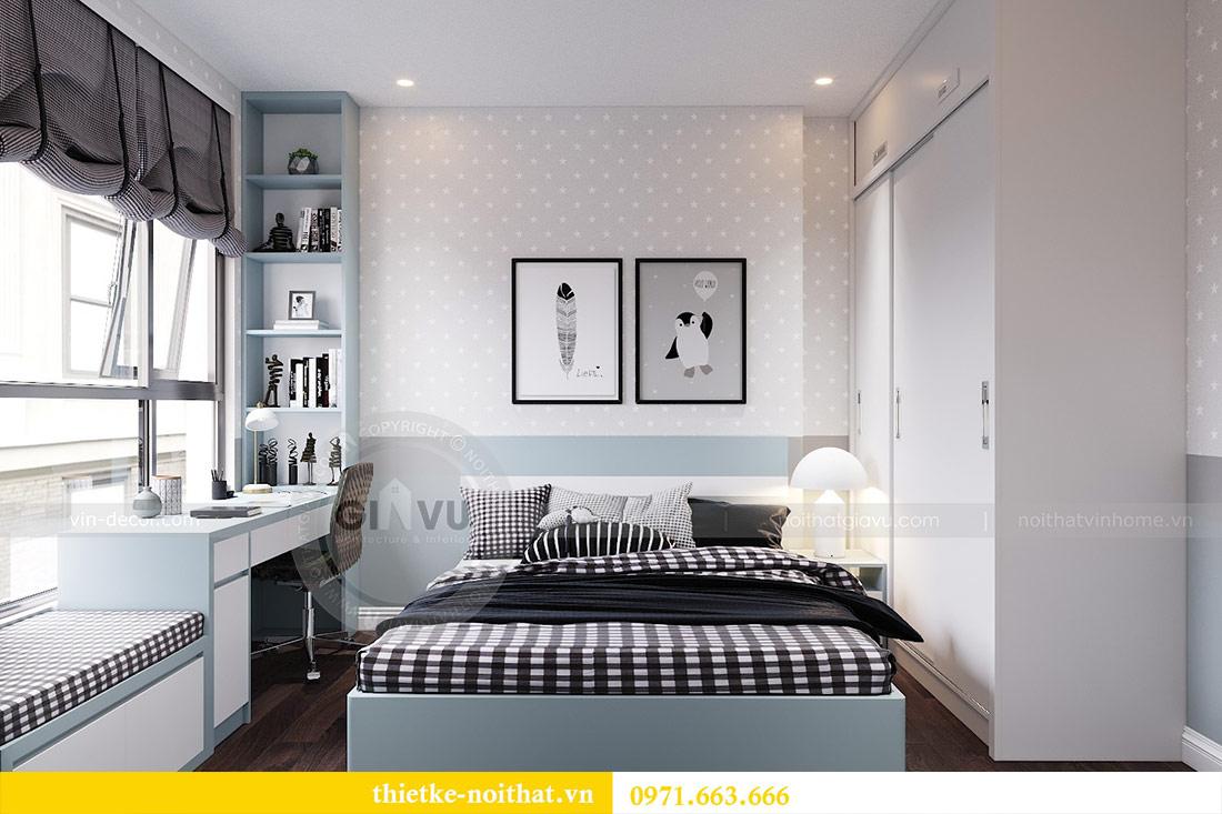 Thiết kế nội thất chung cư dcapitale tòa C1 căn 10 - chị Bun 9